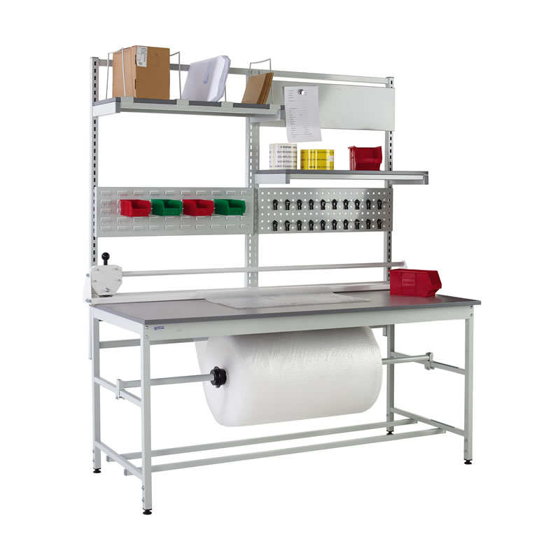 Packing Benches - Rear and Underbench System 1