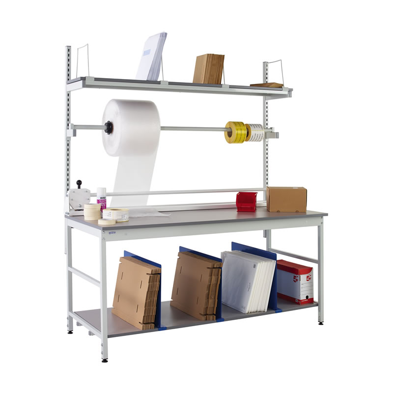Packing Benches - Rear and Underbench System 3