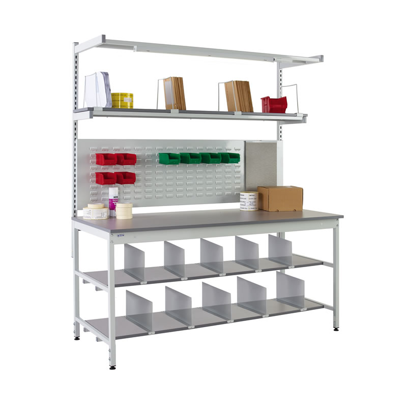 Packing Benches - Rear and Underbench System 4