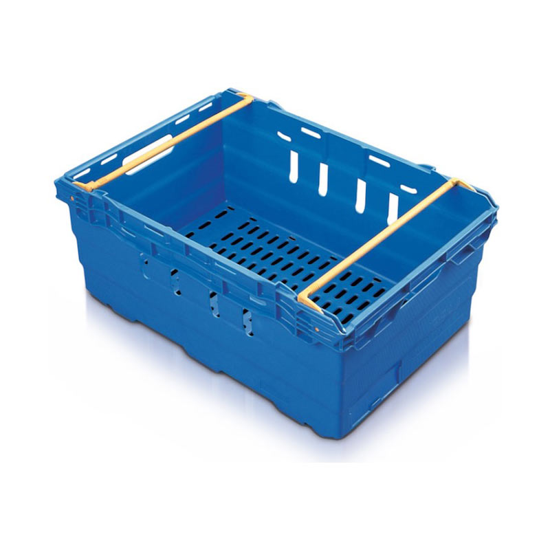 Perforated Tray With Bale Arms - 44 Litres