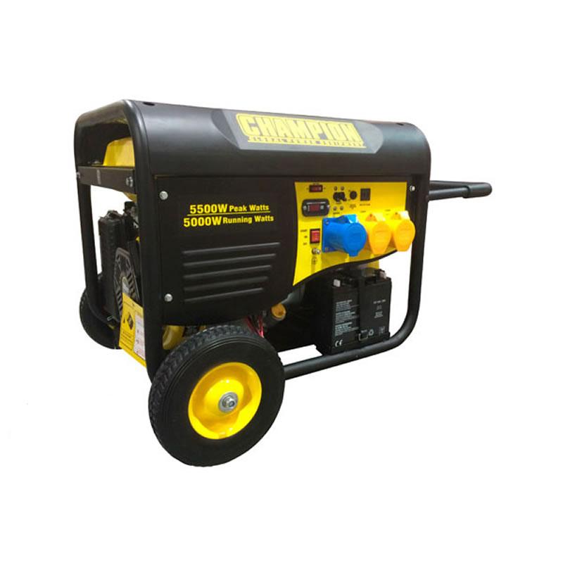 Champion Petrol Generator - 5500 Watts - Electric/Remote