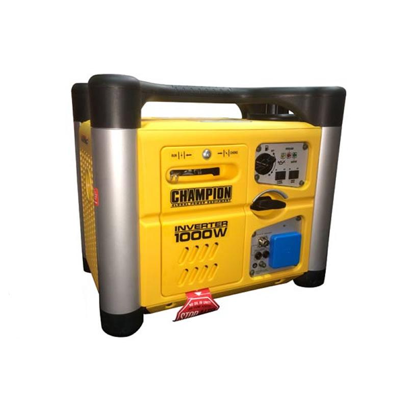 Petrol Silent Inverter Generator - 1000 Watts - Manual
