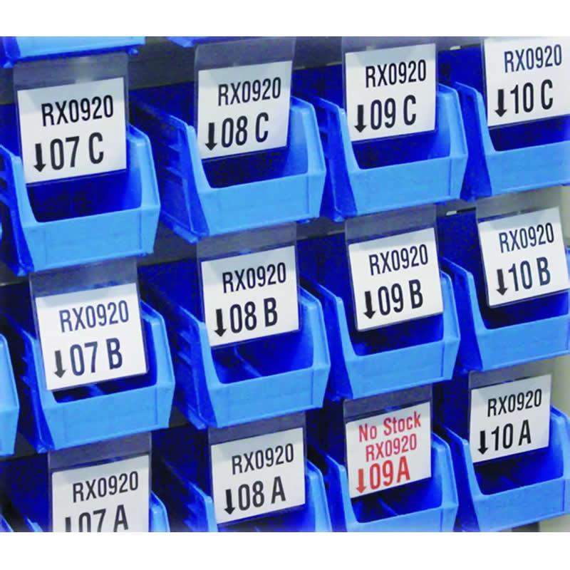 Pick Bin Flexi Identification Pockets - 120 x 110 - Pack of 100