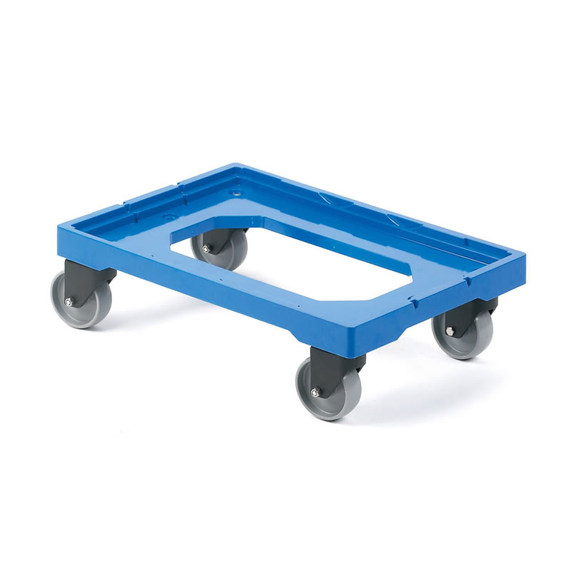 Dolly to suit 1 x 600mm x 400mm or 2 x 400mm x 300mm Containers