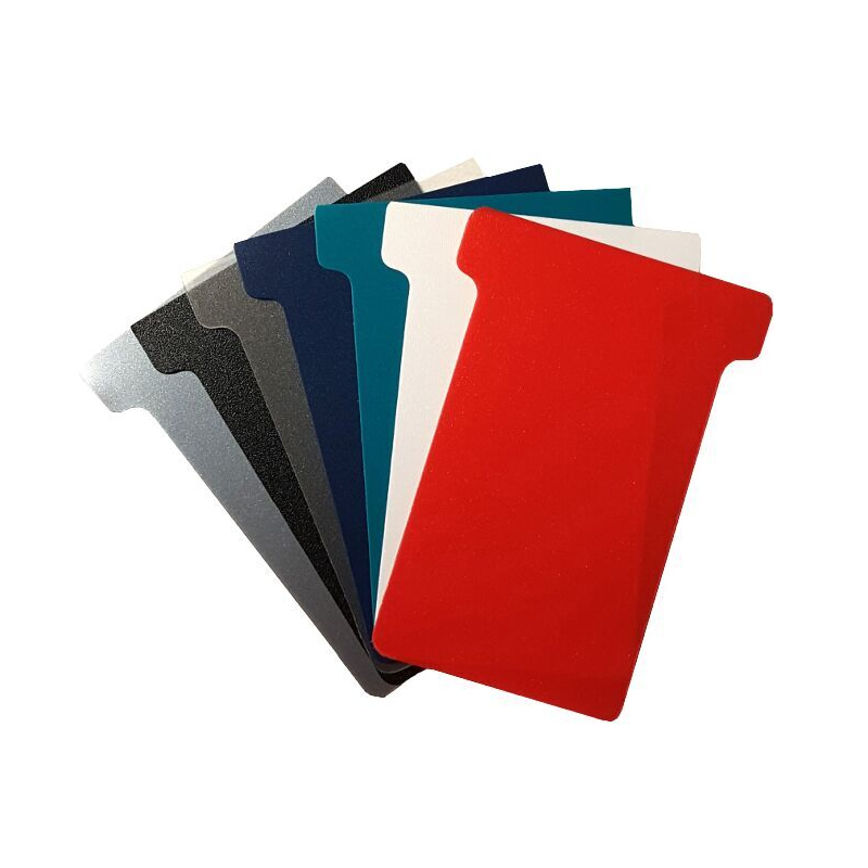 Plastic T-Cards - Size 3