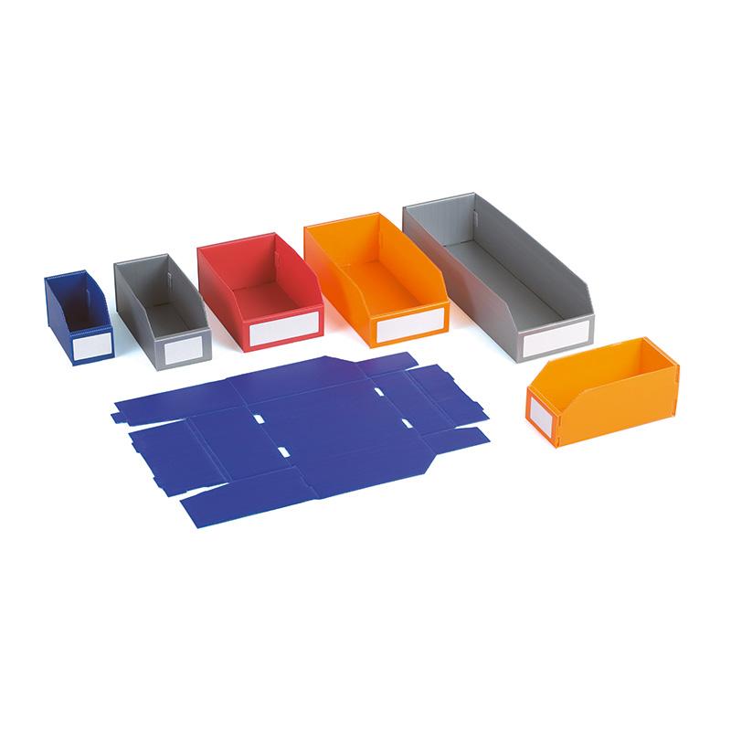 Polypropylene K-Bins - 100mm x 100mm x 400mm - Pack of 25