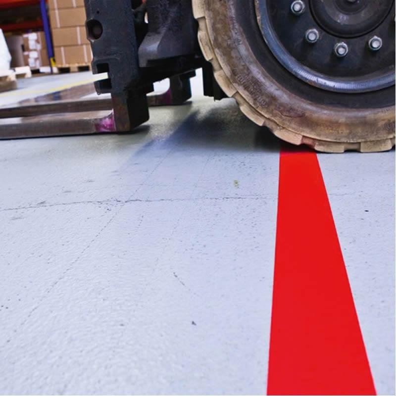 PROLine PVC Line Marking Tape - 50mm Wide x 25 Metre Long Rolls