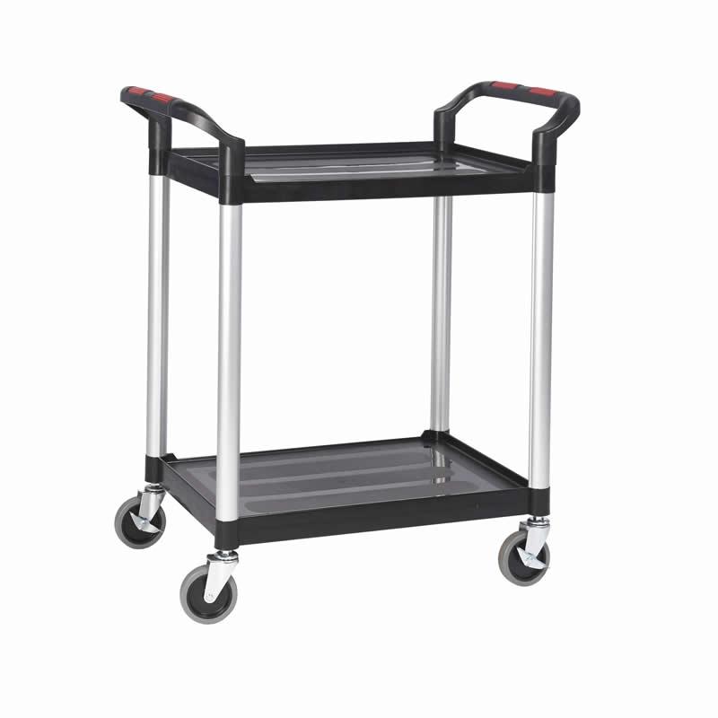 Plastic Shelf Trolley - 2 Shelf - Small