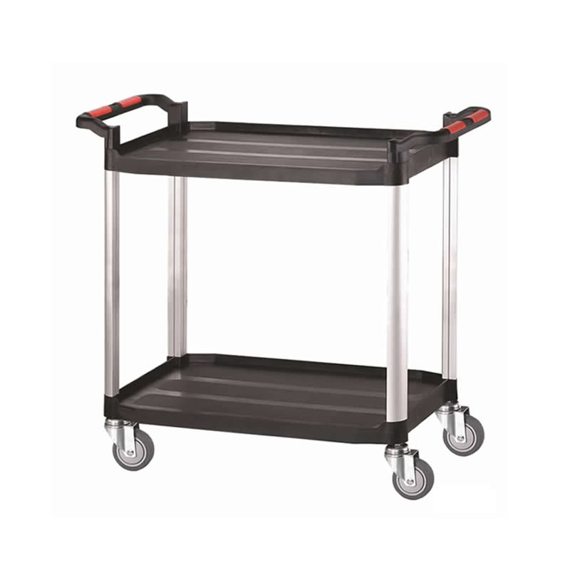 Plastic Shelf Trolley - 2 Shelf - Large