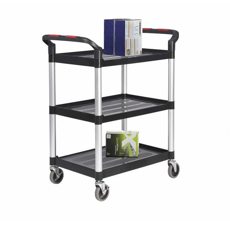 Plastic Shelf Trolley - 3 Shelf - Large