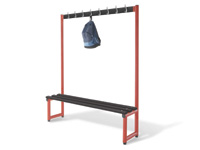 Single hook bench 2000L - specify Timber/Polymer slats