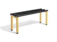 Single bench 1000L - specify Timber/Polymer slats