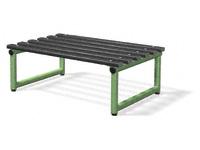 Single bench 2000L - specify Timber/Polymer slats