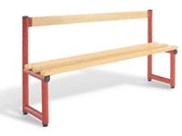 Double sided bench 2000L - specify Timber/Polymer slats
