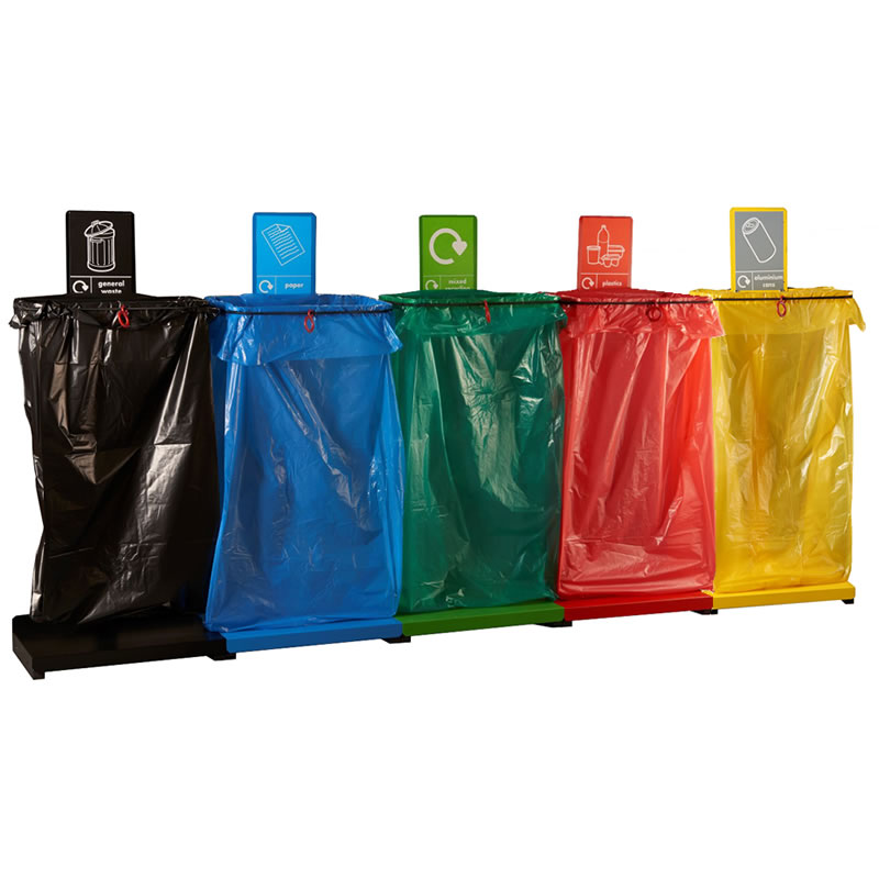 Recycling Sack Holders