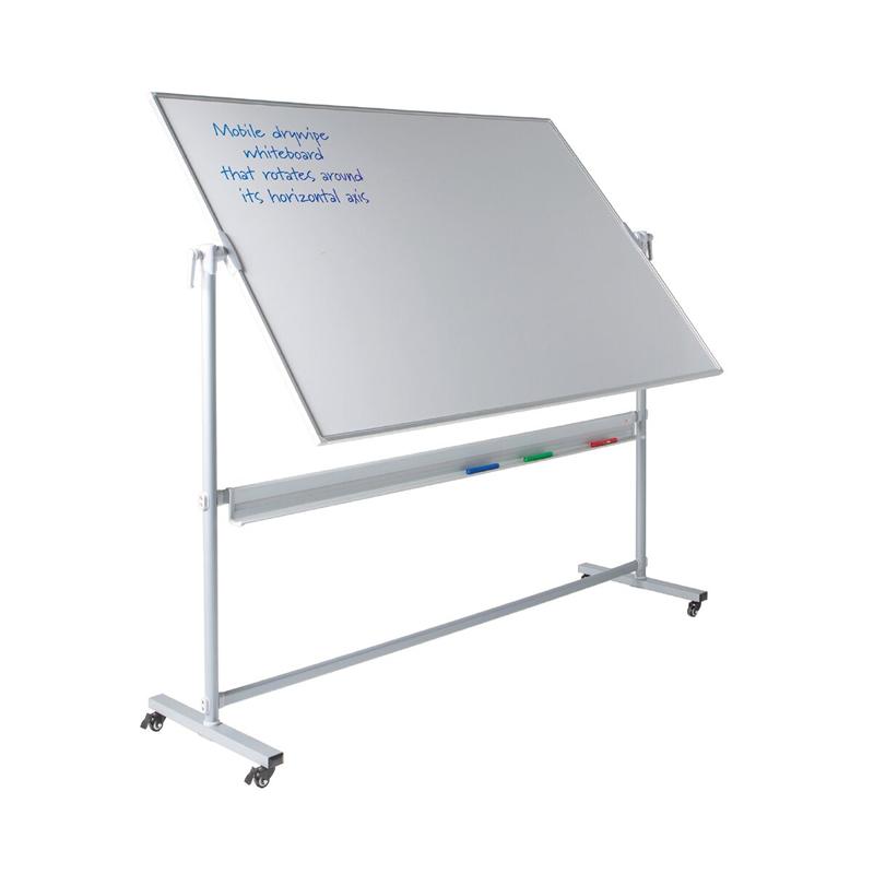 Revolving Mobile Whiteboards - Magnetic