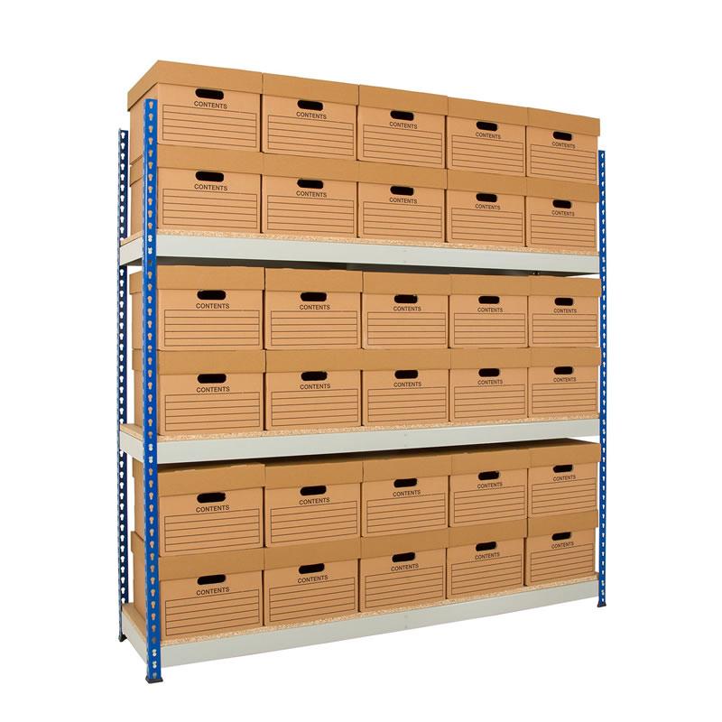 Rivet Archive Storage - Single Boxes - 457mm Deep