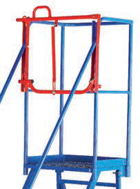 Retro-Fit Lifting Barrier for Vantage Steps - 590mm Deep - MS99