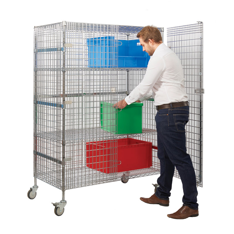 Security Trolley - Large Unit