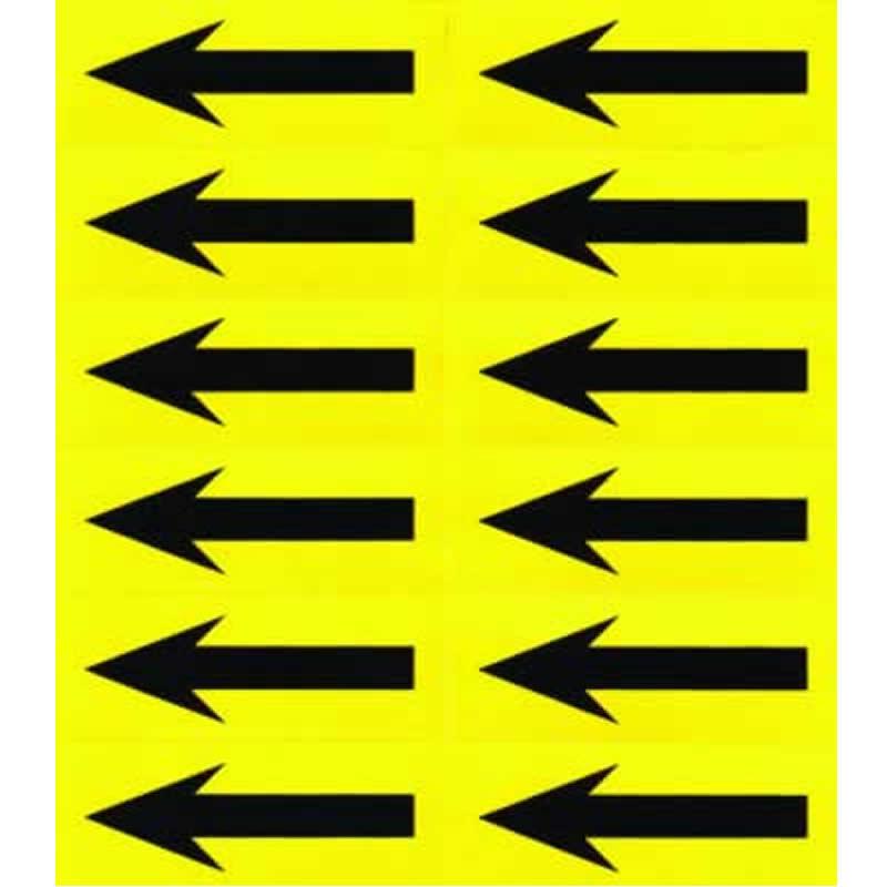 Self-Adhesive Arrow Labels