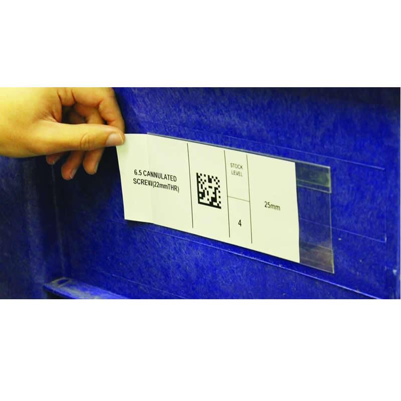 Self-Adhesive Clearview Holders - Packs of 50