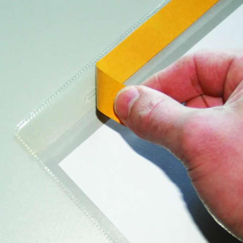 Self Adhesive Document Storage Pockets - Packs of 10