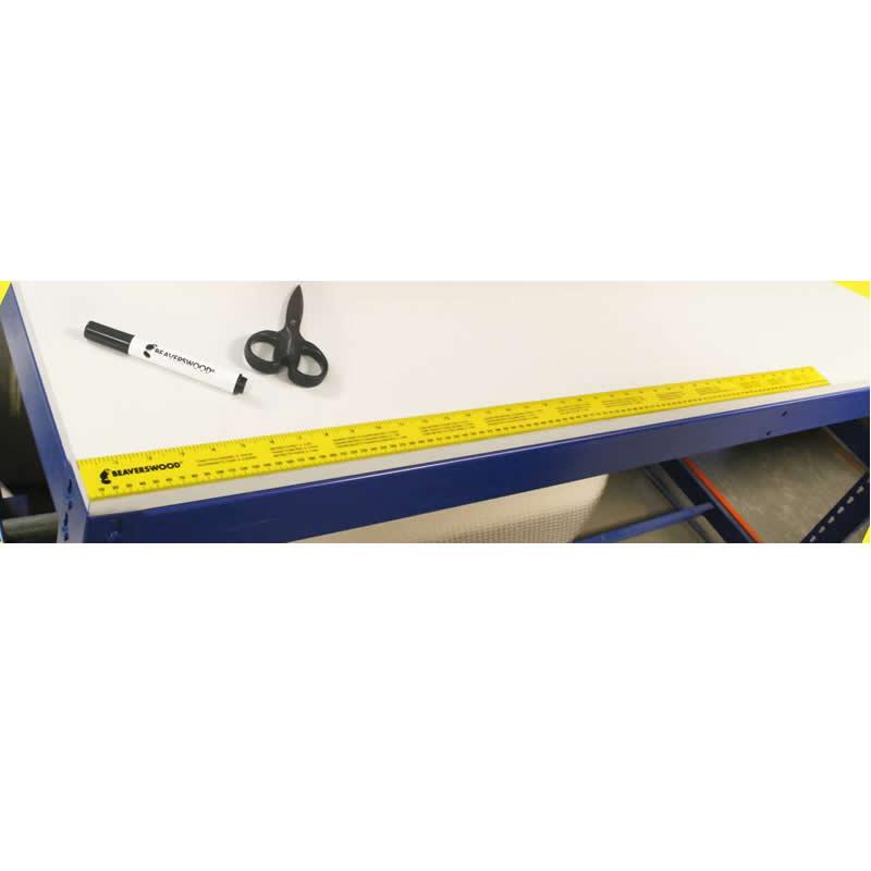 Self Adhesive Ruler - 1000mm x 40mm