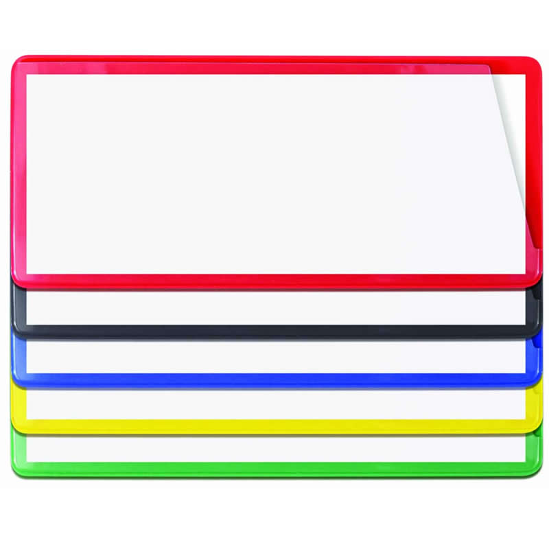 Self-Adhesive Ticket Pouches - 40mm x 120mm - Packs of 100