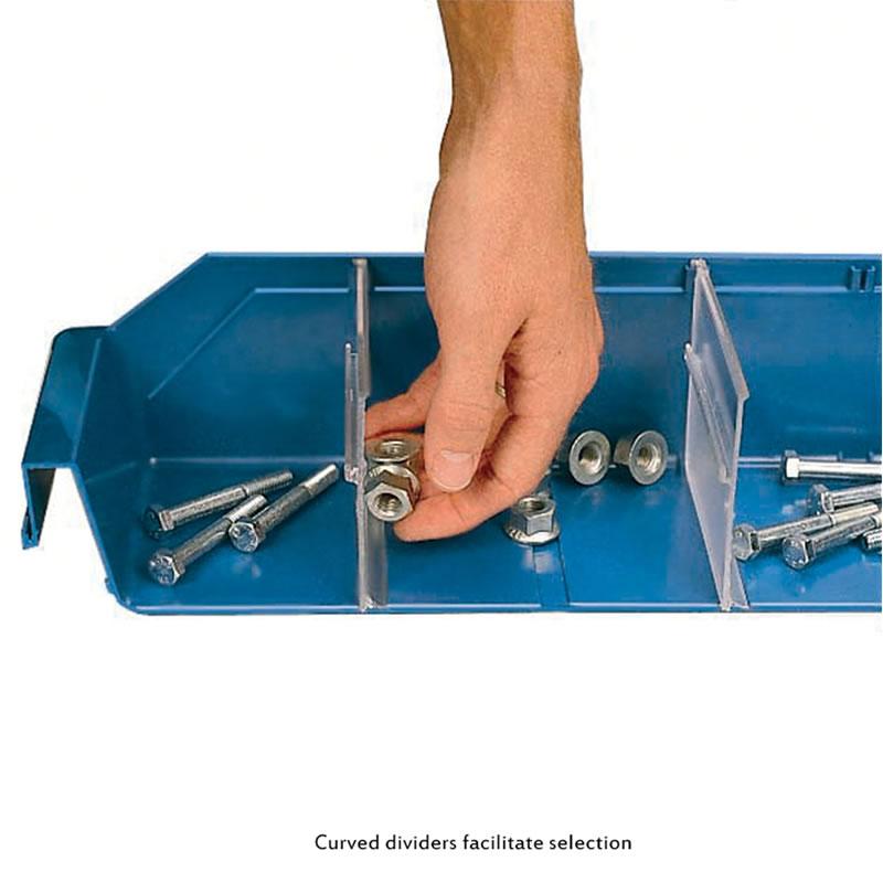 Dividers for Shelf Bins