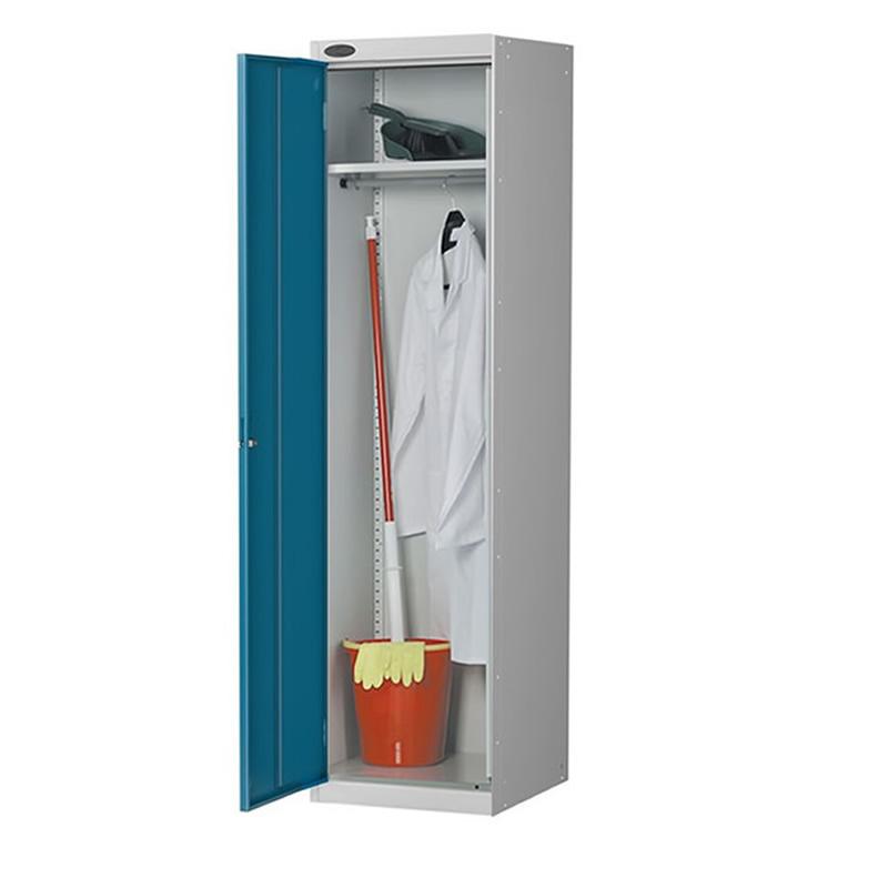 Single Door Cloakroom Cupboard