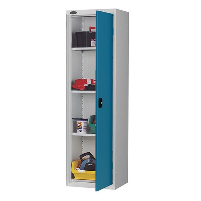 Single Door Storage Cupboard with 3 adjustable shelves