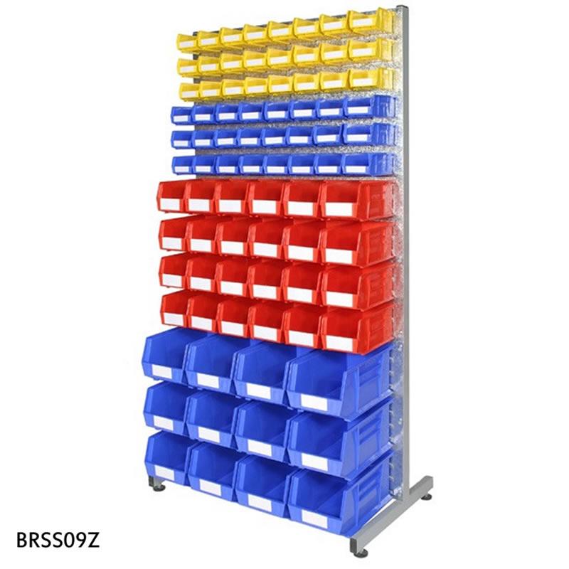 Bin Racks - Single Sided with 84 Bins