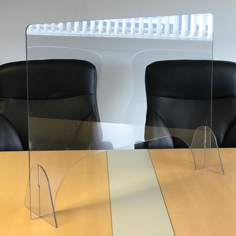 Freestanding Desk Screen with Feet