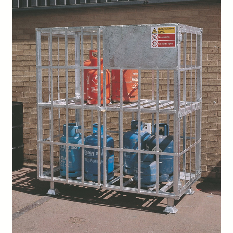 Static Gas Cylinder Cages