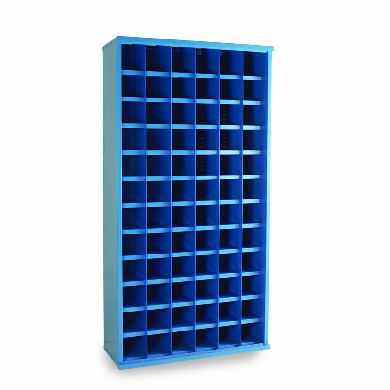 Steel Bin Cabinets - 72 Bins - Bin Size: 148mm x 148mm