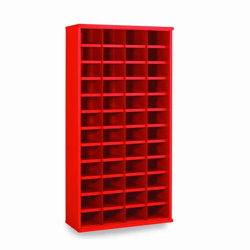 Steel Bin Cabinets - 48 Bins - Bin Size: 148mm x 222mm