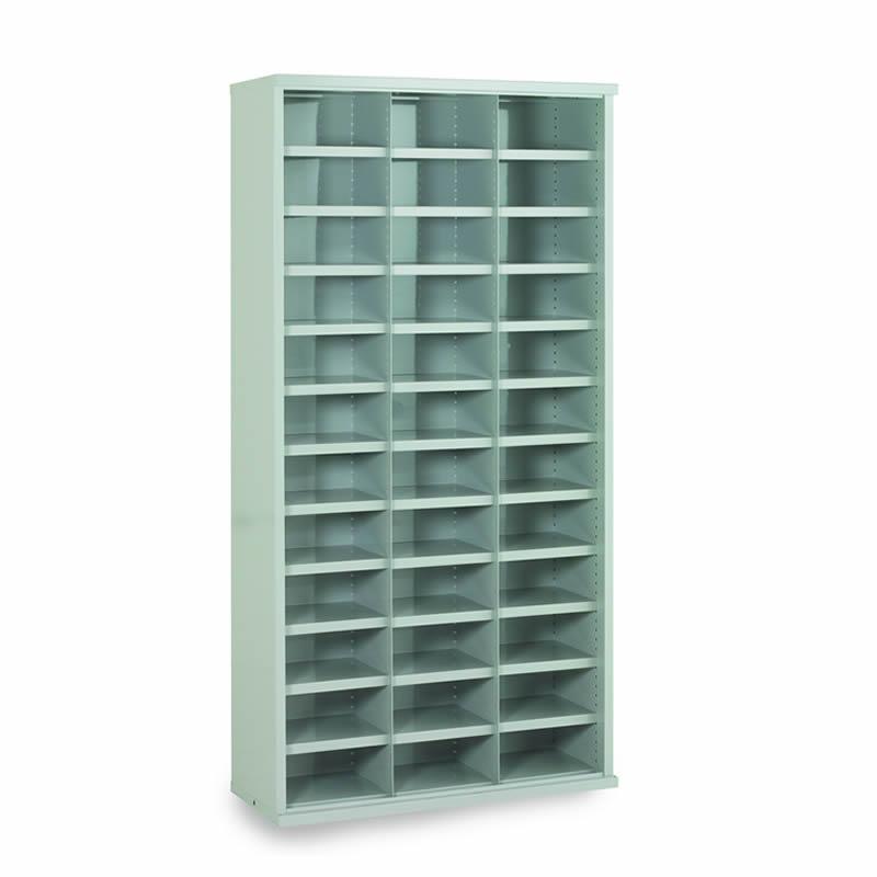 Steel Bin Cabinets - 36 Bins - Bin Size: 148mm x 296mm