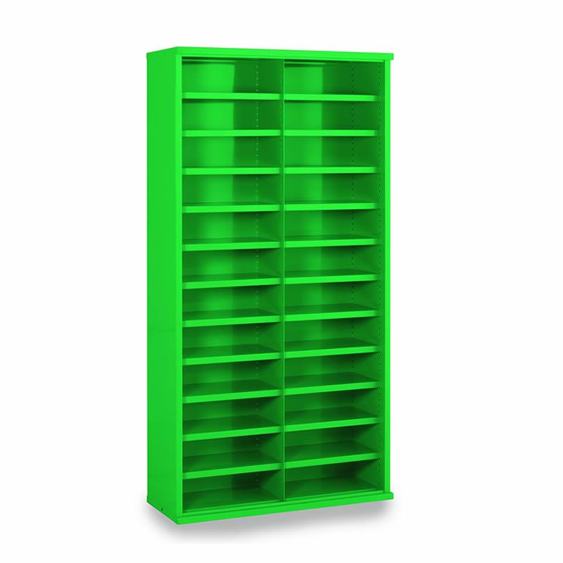 Steel Bin Cabinets - 24 Bins - Bin Size: 148mm x 445mm