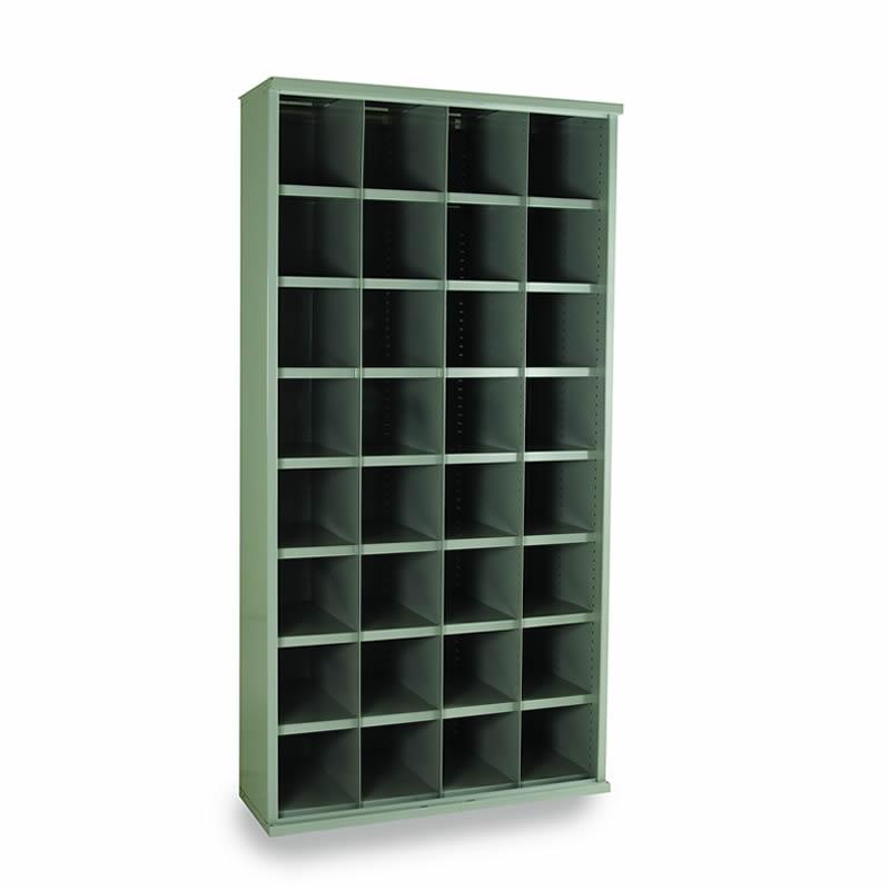 Steel Bin Cabinets - 32 Bins - Bin Size: 220mm x 222mm