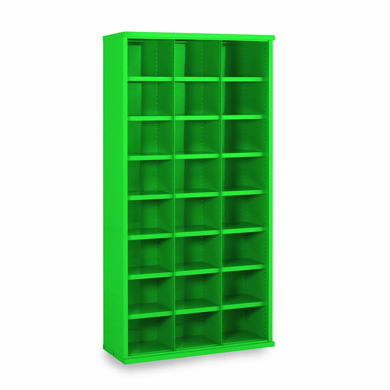 Steel Bin Cabinets - 24 Bins - Bin Size: 220mm x 296mm