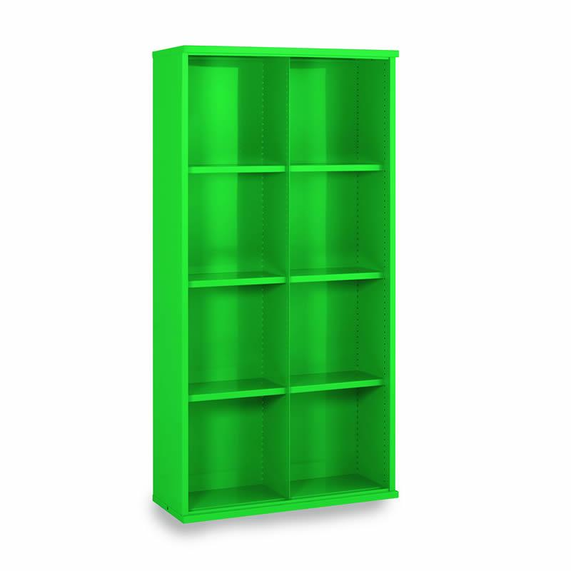 Steel Bin Cabinets - 8 Bins - Bin Size: 440mm x 445mm