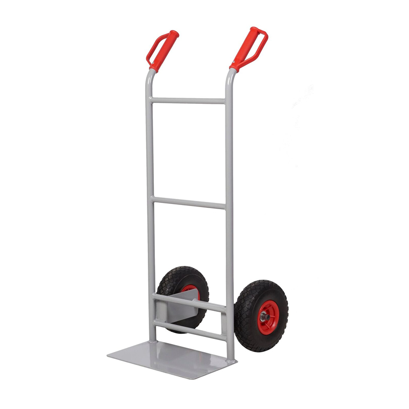 Steel Sack Truck - Reach  Wheels - Straight Back