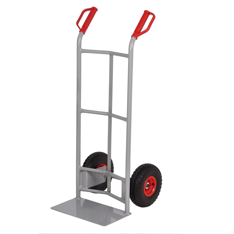 Steel Sack Truck - Reach  Wheels - Concave Back & Standard Toe