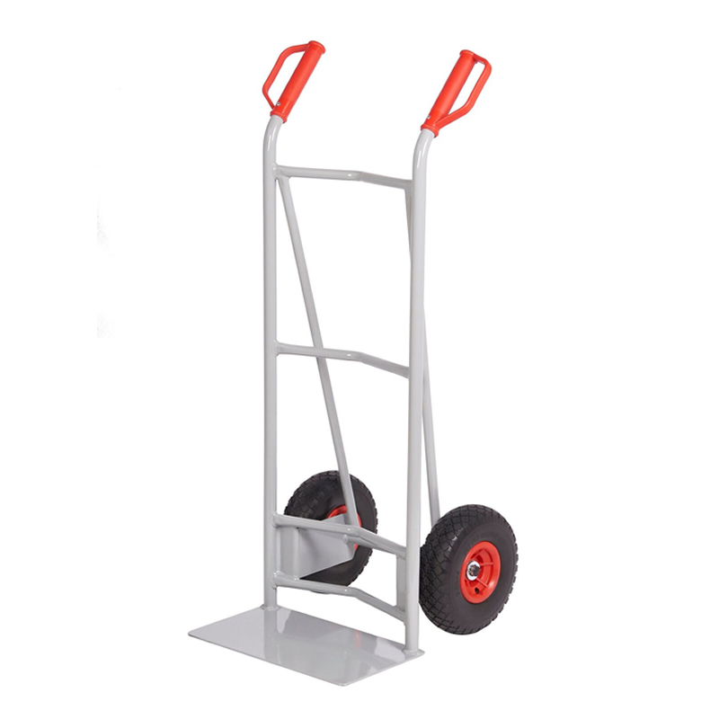 Steel Sack Truck - Reach  Wheels - Concave Back & Axle Support
