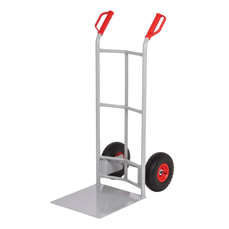 Steel Sack Truck - Reach  Wheels - Concave Back & Large Toe