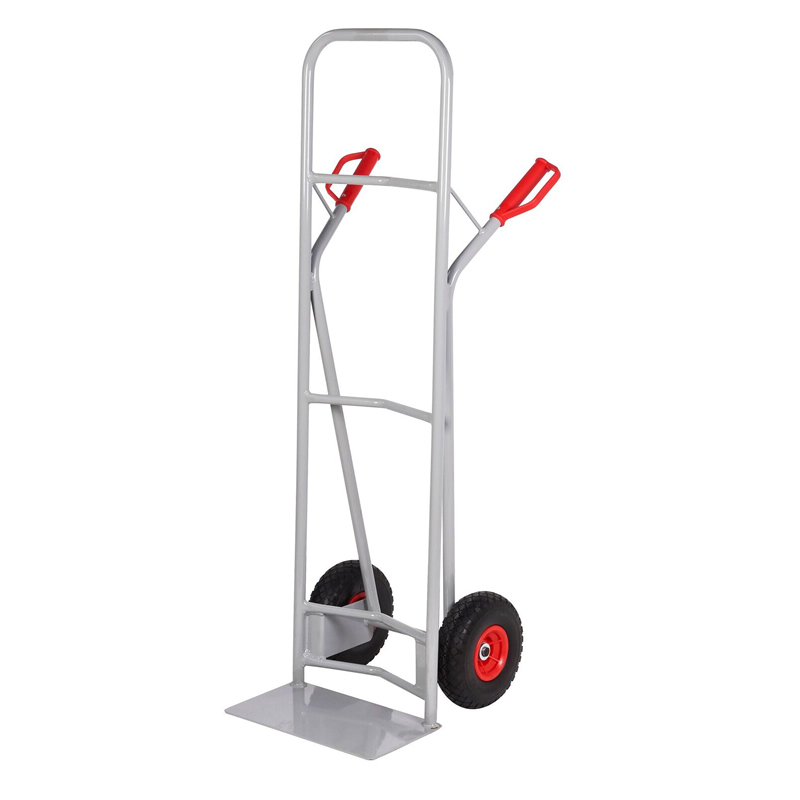 Steel Sack Truck - Reach  Wheels - High Back