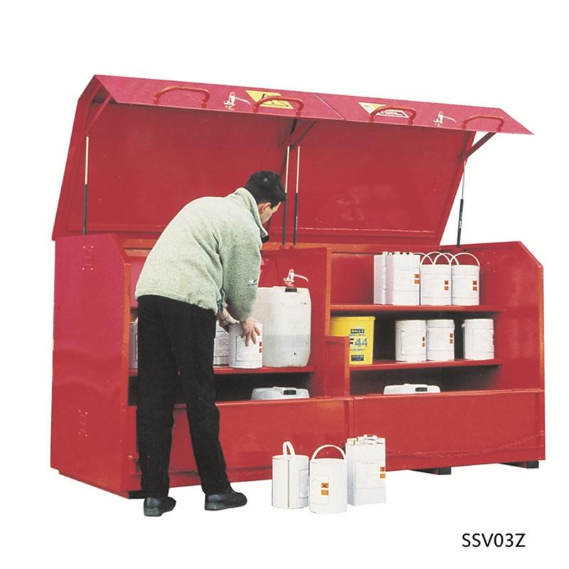 Storage Vault - 1270mm(h) x 2500mm(w) x 1080mm(d)