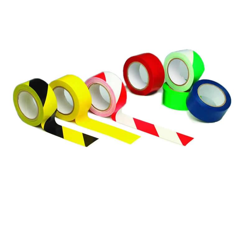 Striped Lane Marking PVC Tape - 50mm x 33m Rolls