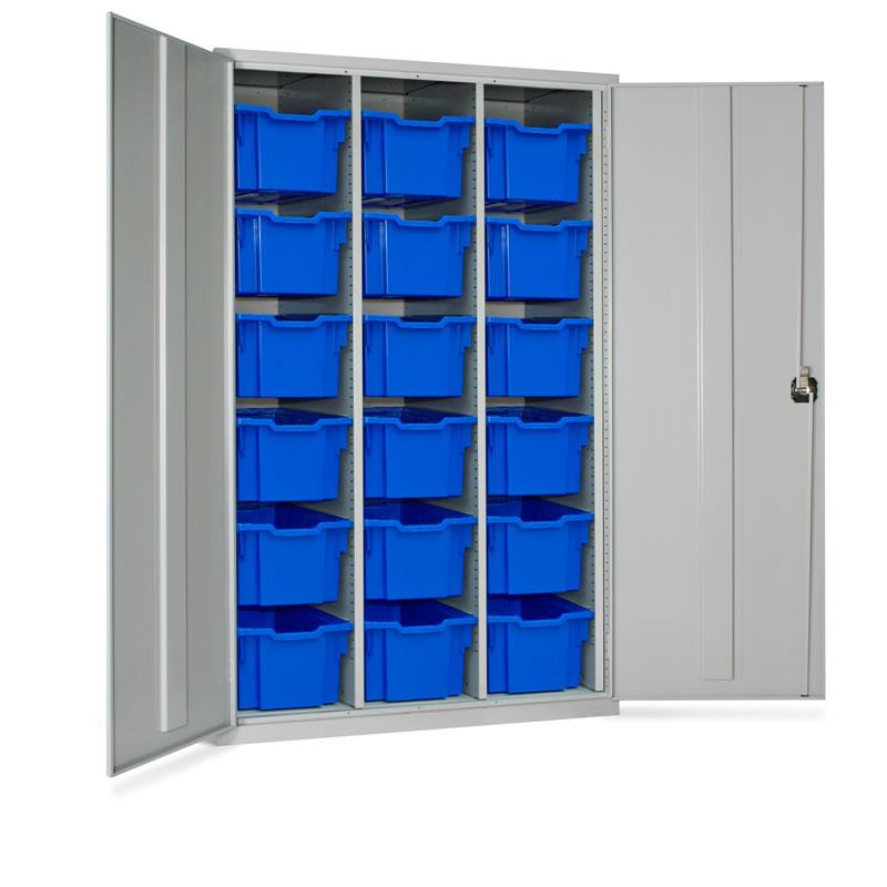 Storage Tray Cupboard - 27 x Trays