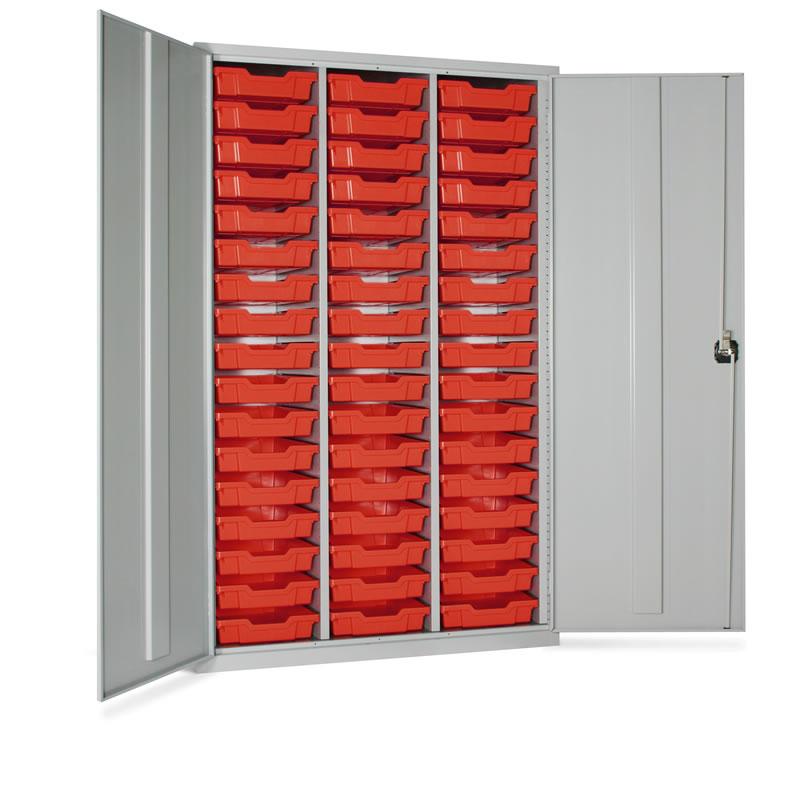 Storage Tray Cupboard - 51 x Trays